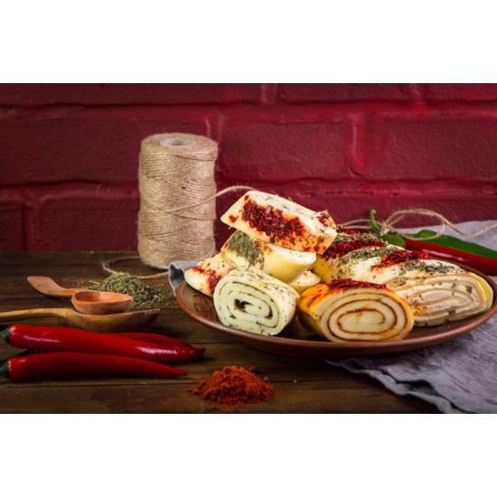 Сырный рулет «Гебжалия» со специями