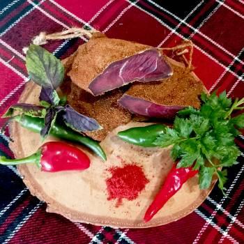 Баранина сыровяленая по-бессарабски