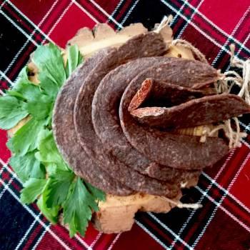 Суджук из баранины сыро-вяленый