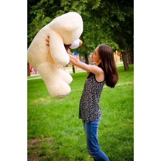 Плюшевый мишка абрикосовый 125 см Бойд