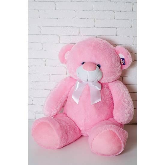 Плюшевый мишка розовый 125 см Бойд