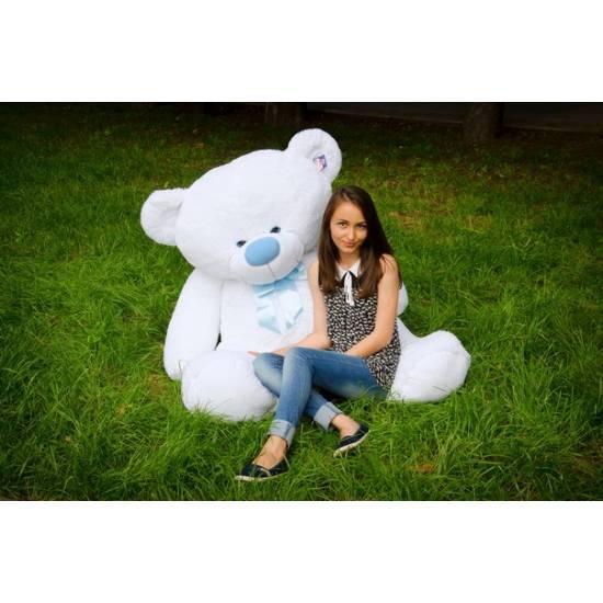 Плюшевый мишка белый 200 см Бойд