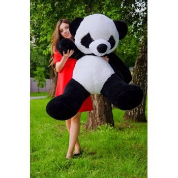 """Плюшевые мишки черный 160 см """"Панда"""""""