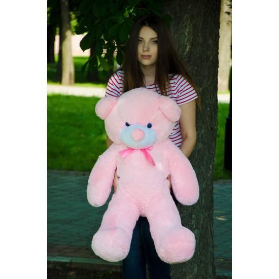 Плюшевый мишка розовый 100 см Рафаэль