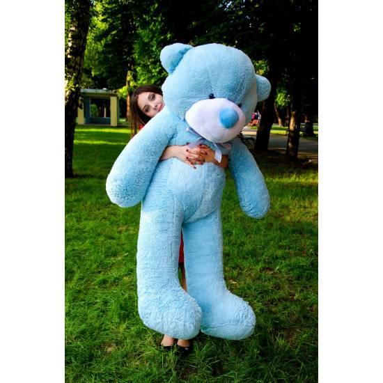Плюшевый мишка голубой 160 см Рафаэль