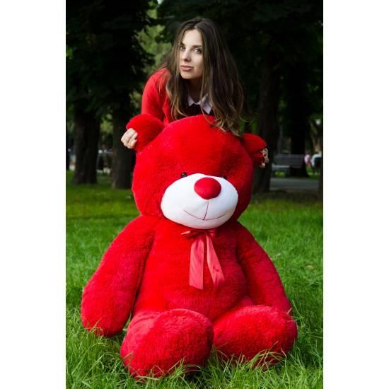 Плюшевый мишка красный 160 см Рафаэль