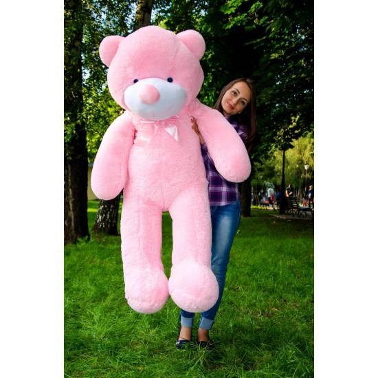 Плюшевый мишка розовый 160 см Рафаэль