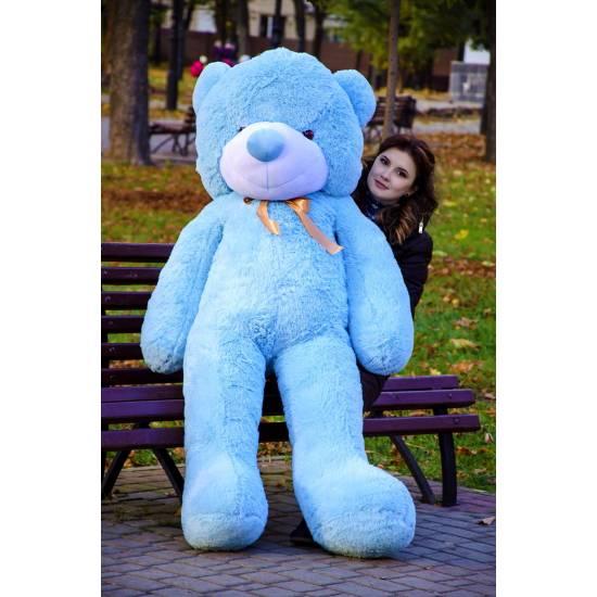 Плюшевый мишка голубой 180 см Рафаэль
