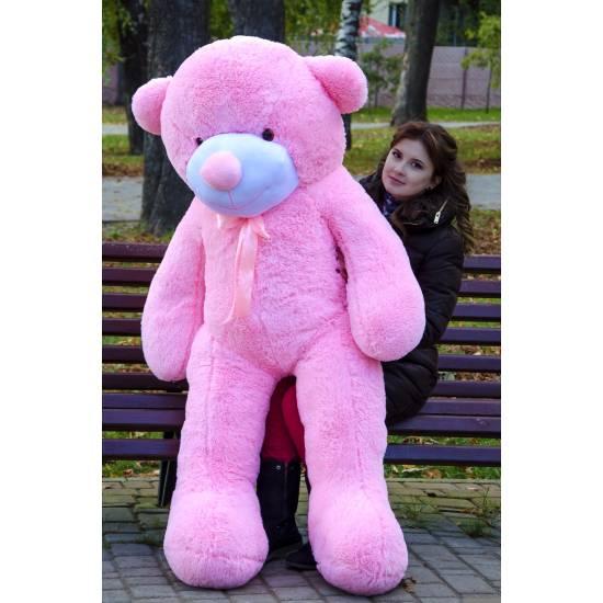 Плюшевый мишка розовый 180 см Рафаэль