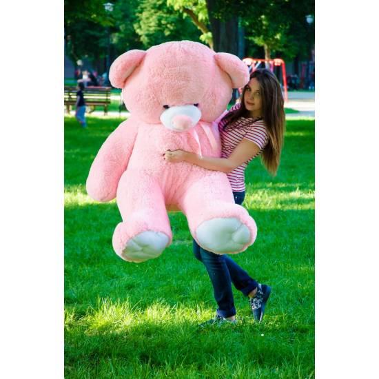 Плюшевый мишка розовый 180 см Томми