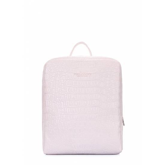 Женский рюкзак белого цвета