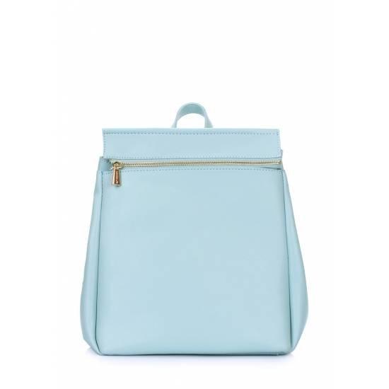 Женский рюкзак голубого цвета