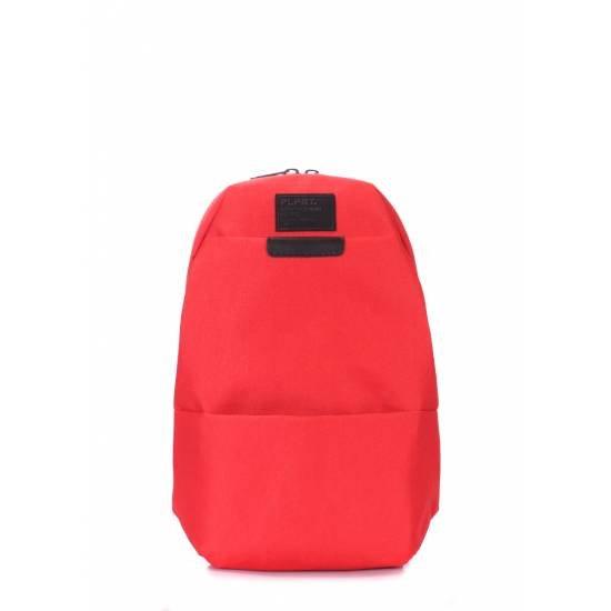 Сумка-рюкзак Sling красного цвета