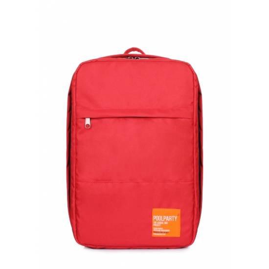 Рюкзак для ручной клади красного цвета