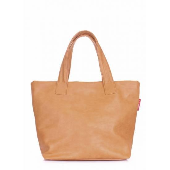 Женская сумка коричневого цвета