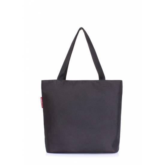Женская повседневная сумка черного цвета