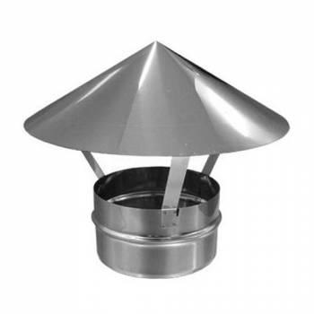 Грибок для дымохода из оцинкованной стали