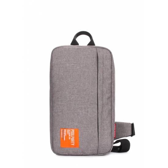 Серый рюкзак слингпек