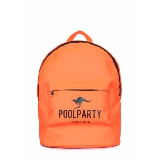 Повседневный рюкзак оранжевого цвета