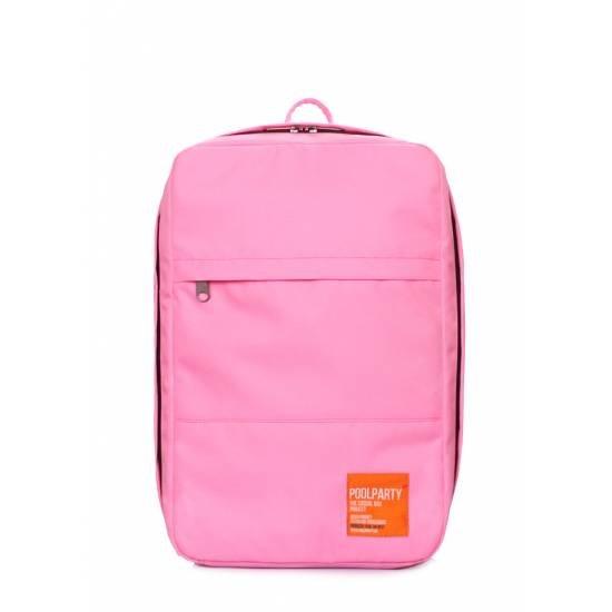 Рюкзак для ручной клади розового цвета
