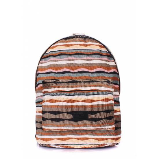 Женский рюкзак коричневого цвета