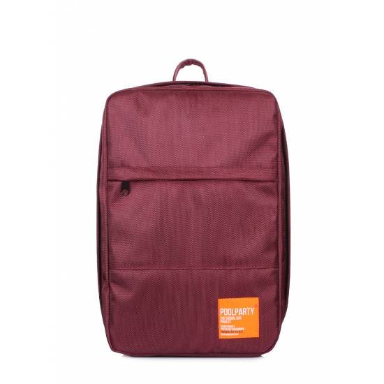 Бордовый рюкзак для ручной клади