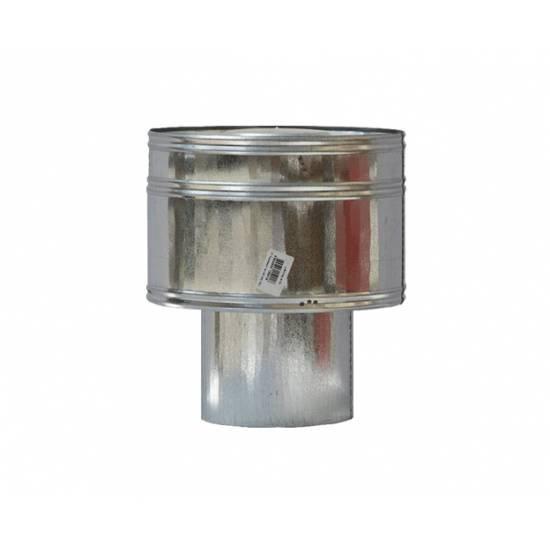 Волпер для дымохода из оцинкованной стали