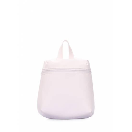 Женский рюкзачок белого цвета