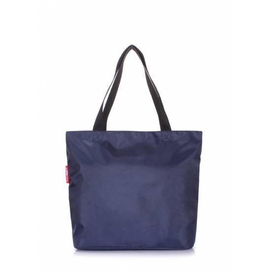 Женская повседневная сумка синего цвета