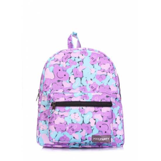 Женский рюкзак сиреневого цвета