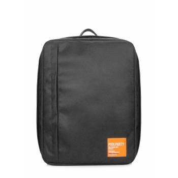 Черный рюкзак для ручной клади