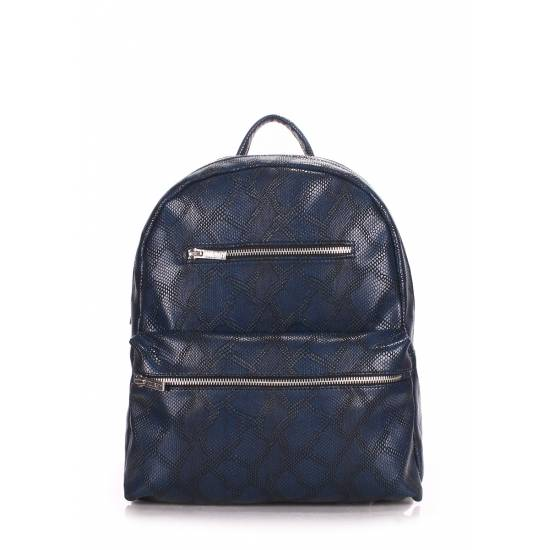 Женский рюкзак синего цвета