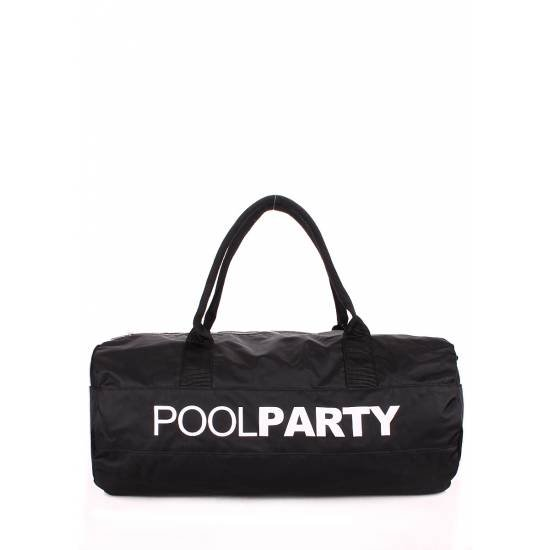 Спортивно-повседневная сумка черного цвета
