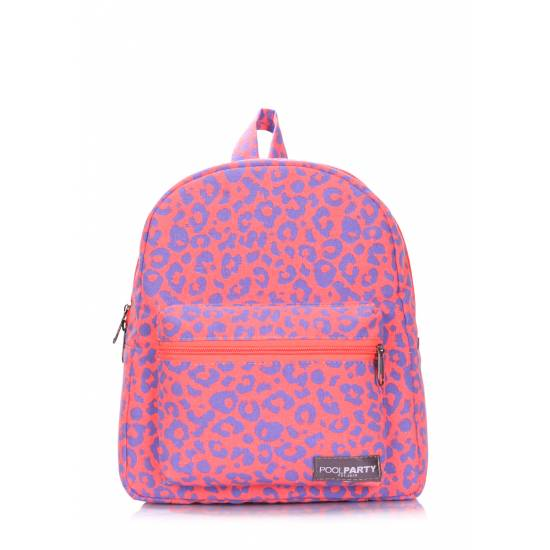 Женский рюкзак розового цвета