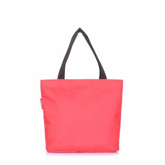 Женская повседневная сумка красного цвета