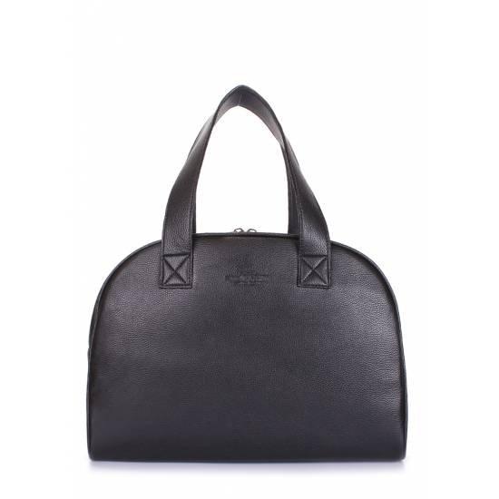 Черная сумкаиз плотного текстиля высокого качества
