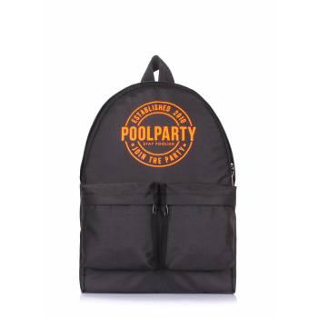 Черный рюкзак с выходом для наушников