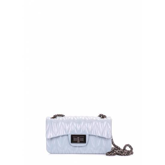 Голубая сумочка на цепочке
