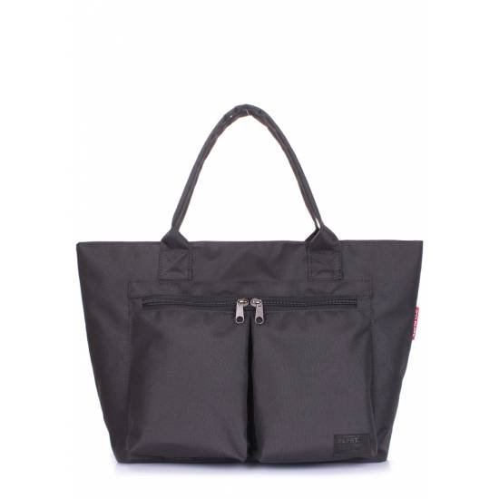 Городская сумка черного цвета