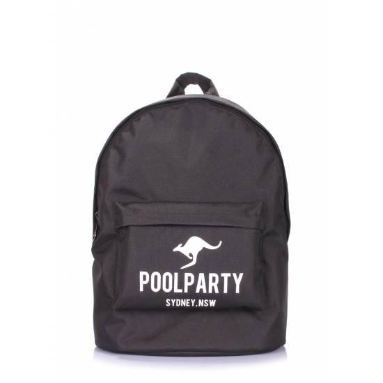 Молодежный рюкзак черного цвета