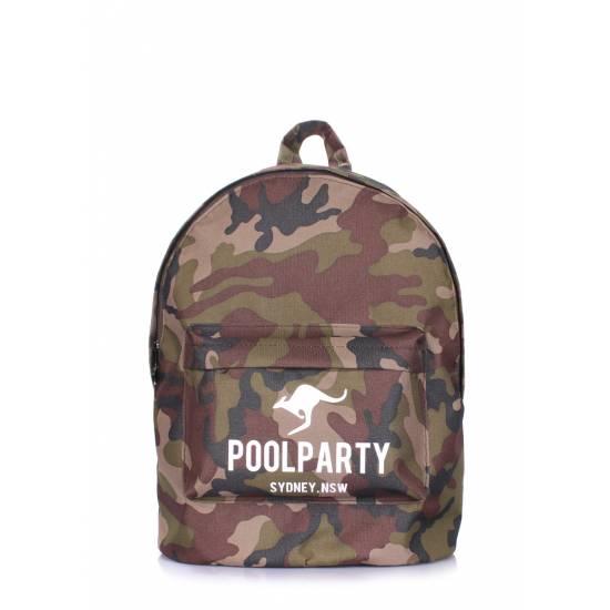 Камуфляжный рюкзак POOLPARTY