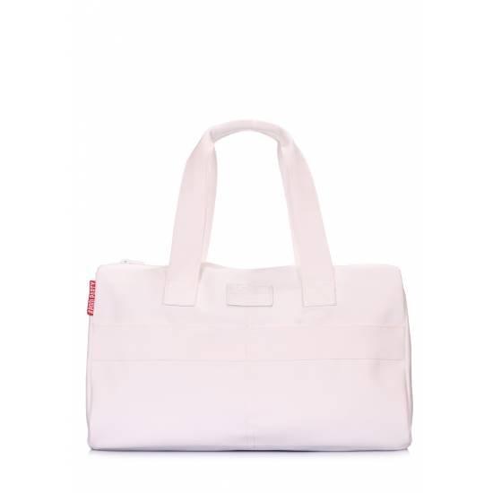 Повседневная сумка белого цвета