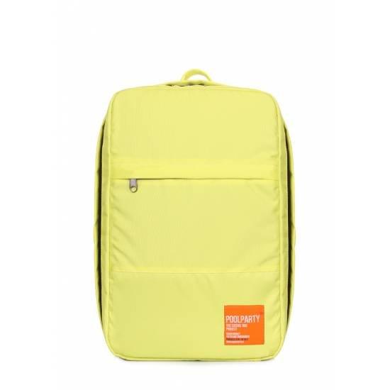 Рюкзак для ручной клади лимонового цвета