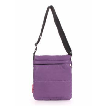 Сумка-планшет фиолетового цвета