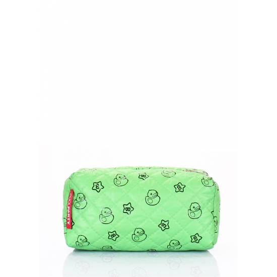 Зеленая косметичка
