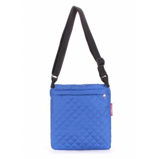 Сумка-планшет синего цвета