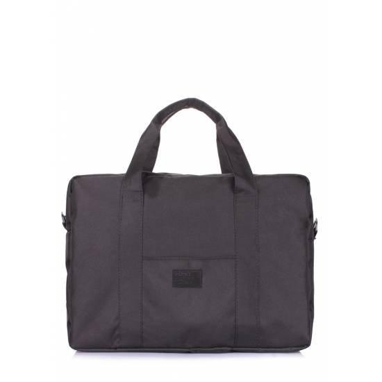Повседневная сумка черного цвета