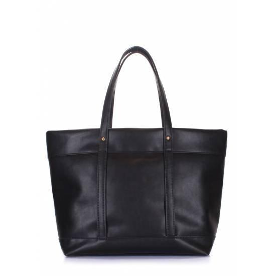 Черная сумка с одним отделением