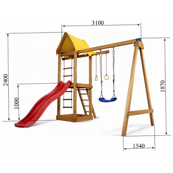Детский игровой комплекс Babyland-18