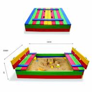 Детская песочница 29 размер 100х100см